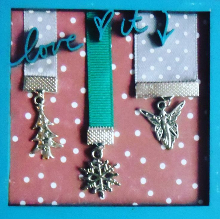 Świąteczne zakładki #zakładka #śnieżynka #anioł #choinka #bookmarks #ribbonbookmark #snowflake #angel #christmastree #christmas #GawraStefana