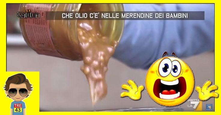 Che olio c'è nelle merendine dei bambini...