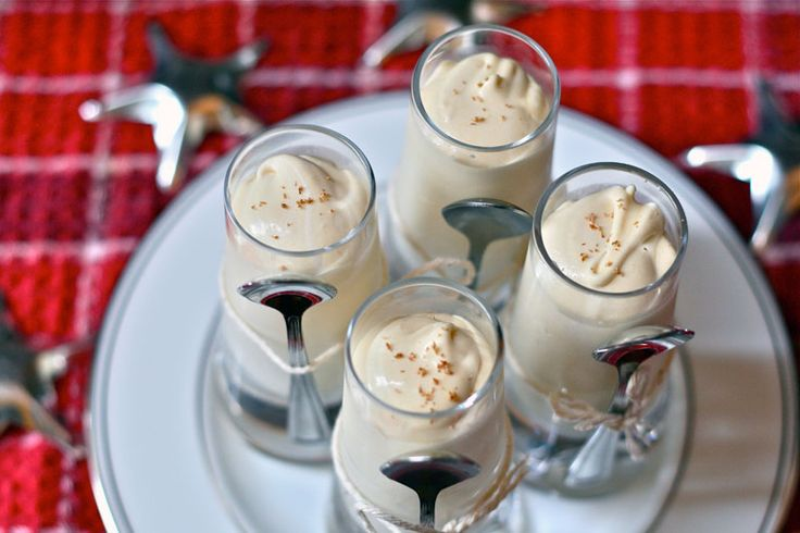 Love it or hate it, egg nog is the known for being THE quintessential holiday drink.  And whether you spike yours with brandy, rum or bourbon...we here at Brit + Co. are certain you will adore this creative take on the tipsy classic.