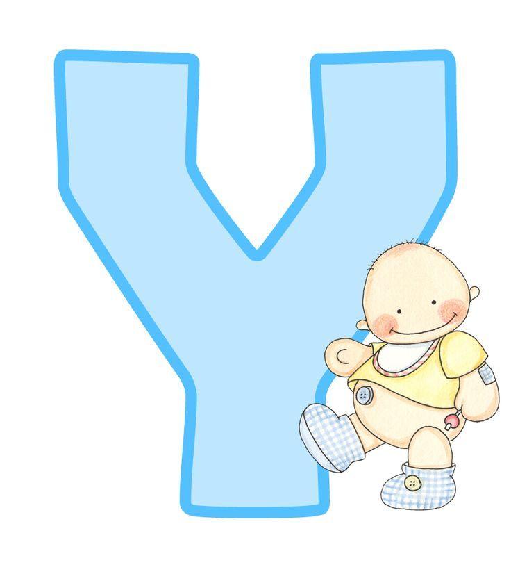 26 mejores im genes de abc baby iv en pinterest azul - Letras decorativas para ninos ...
