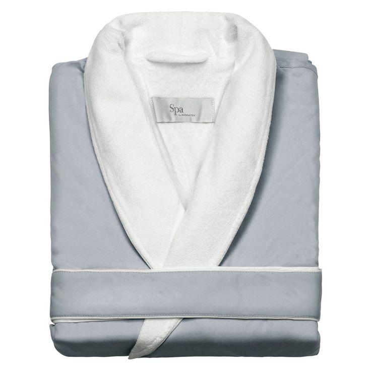 Kassatex Spa Bath Robe - Silver Sage (L/XL), Adult Unisex