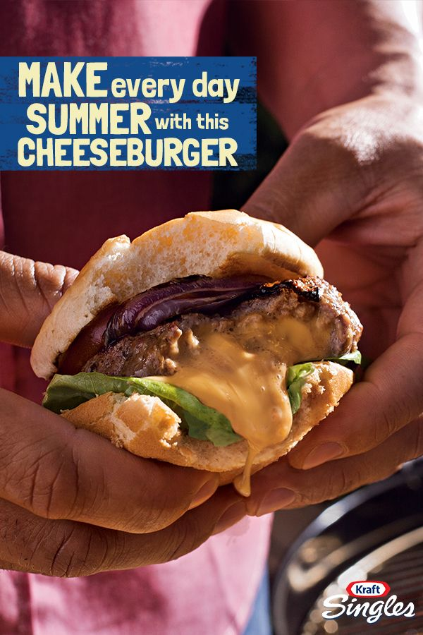 Cheese on top of the patty is so last summer. Try the juicy Inside-Out cheeseburger instead, with the melted-cheese goodness nestled right inside. Warning - the family will be asking for extra napkins!