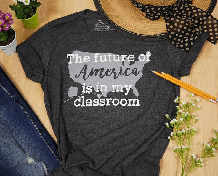 """Future of America"" T-shirt – Bored Teachers"
