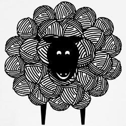 : Funny Crochet, Crochet Design, Yarni Sheep, Crochet Humor, Gifts Ideas, Unique Crochet, Sheep Shirts, Crochet Gifts, Wall Hook