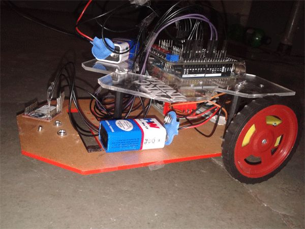 Android Phone Controlled Bluetooth Motion Vehicle