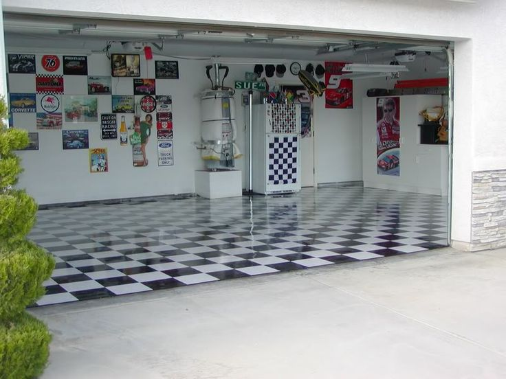 Interior Garage Paint Ideas | After A Fresh Coat Of Wax :