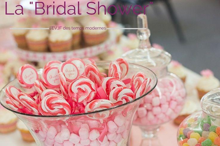Candy bar rose, bonbon rose, gâteaux, cupcake, soirée entre filles, mariage, EVJF, enterrement vie de jeune fille, bridal shower, dessert. La Bridal Shower, l'enterrement de vie de jeune fille des temps modernes. labeletoile-wp.fr