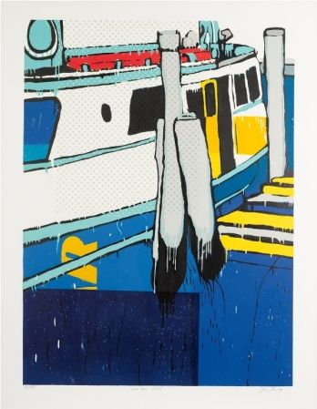 Jasper Knight (b. 1978) : Palm Beach Wharf I 2009