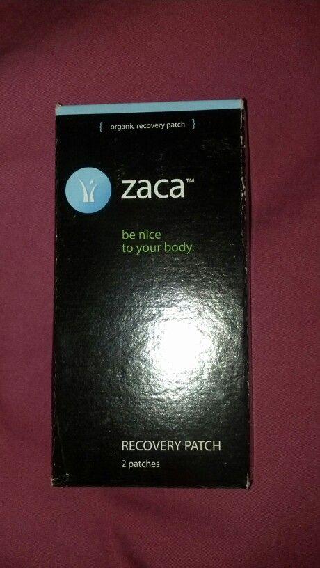 Zaca organic recovery patch 2 patch