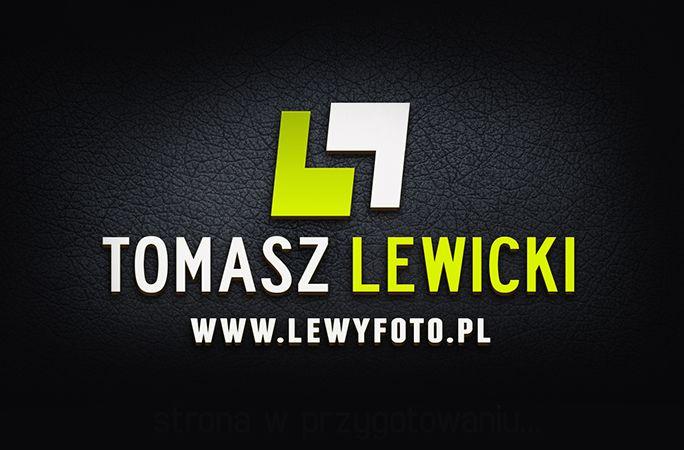 2014, Logo for photographer Tomasz Lewicki, webgrafika.pl
