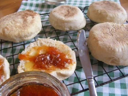 Serenely Full: sourdough english muffins #sourdoughsurprises