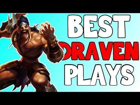 League of Legends- draven montage 2016   Epic Draven Plays Compilation
