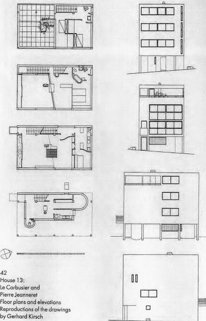 House 13 by Le Corbusier