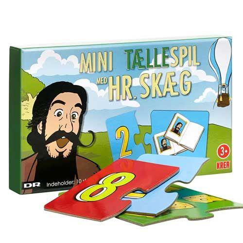 Hr. Skæg - Mini tællespil