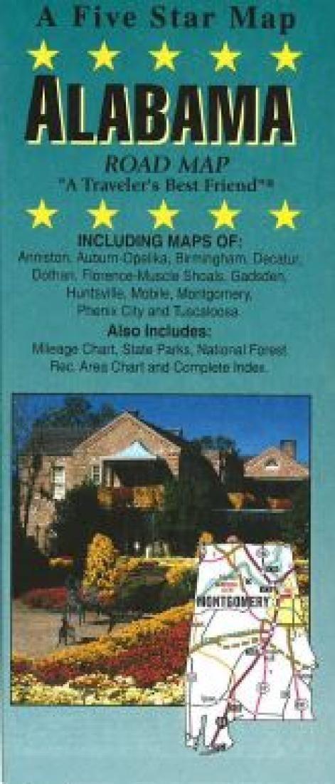 Alabama by Five Star Maps, Inc.