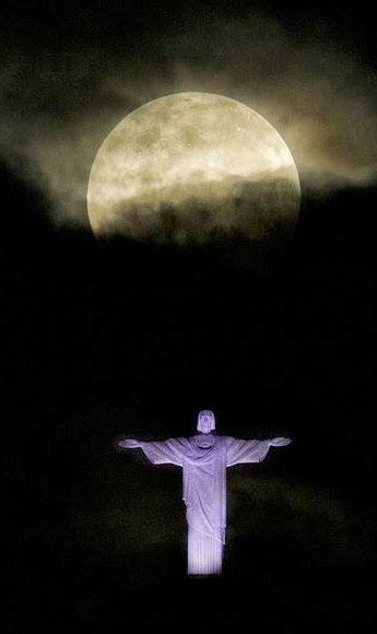 Super Lua... Rio de Janeiro, Brasil...