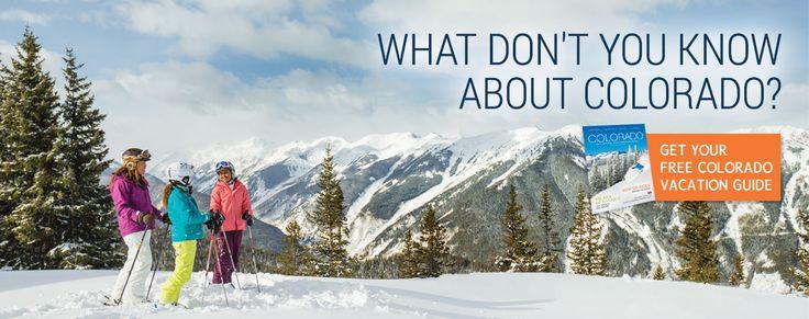 Great Site for Colorado travel ideas: Colorado Tourism - Official Colorado Vacation Guide | Colorado.com
