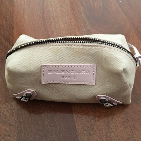 Brand new Balenciaga bag Brand new. Never used. Balenciaga bag. NO TRADES 6x9.5 inches Balenciaga Bags Cosmetic Bags & Cases