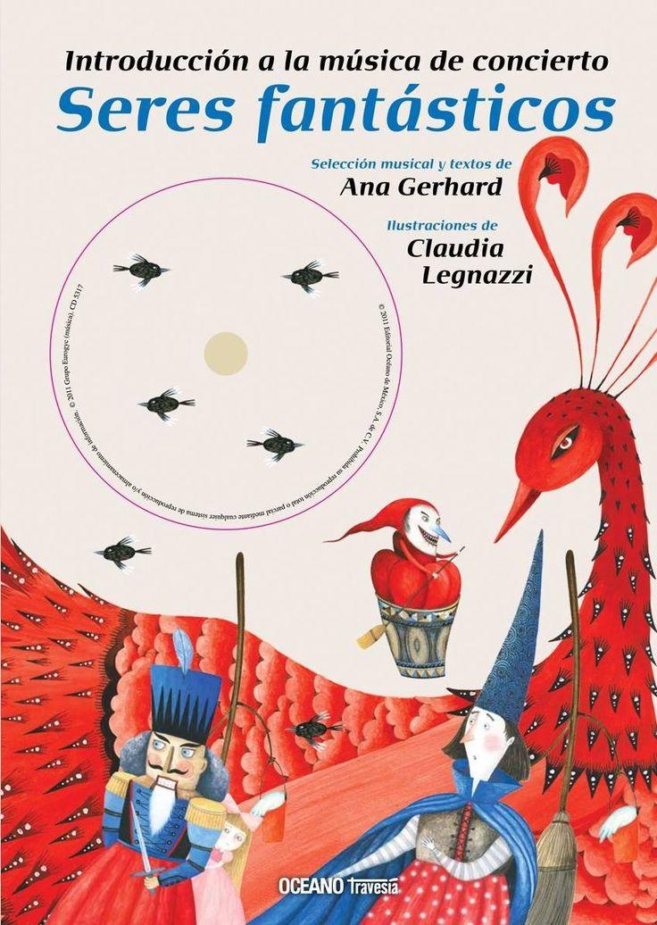 ¡Día de la música! Uno de nuestros éxitos en la Feria fueron las obras de @OceanoTravesia y Ana Gerhard: 'Seres fantásticos. Introducción a la música de concierto (libro + CD)' es la última de sus introducciones a la música clásica: https://www.veniracuento.com/content/seres-fantasticos-introduccion-la-musica-de-concierto-libro-cd