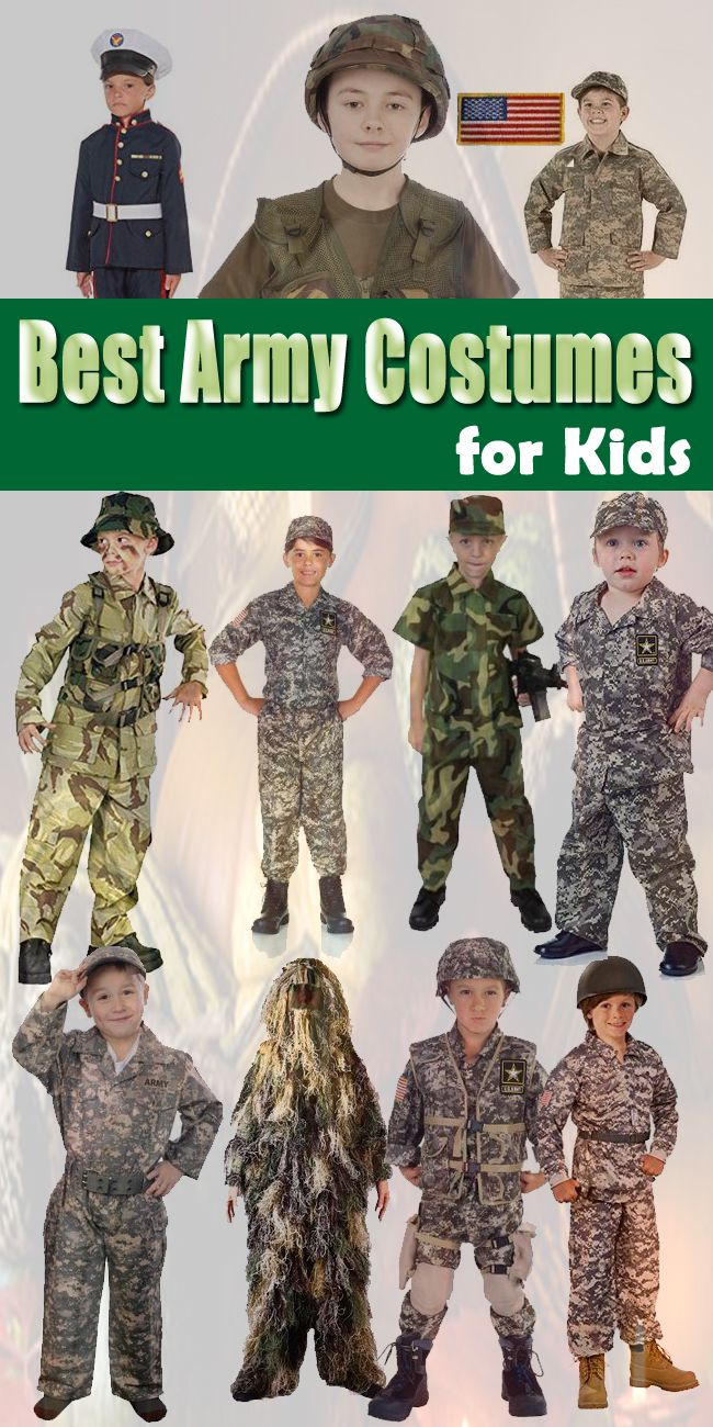 25 best army costumes for kids adults images on pinterest army best army costumes for kids solutioingenieria Image collections