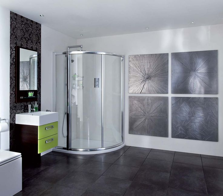 Commissions: concept cast leaf panels with metallic finish, Aquata shower…