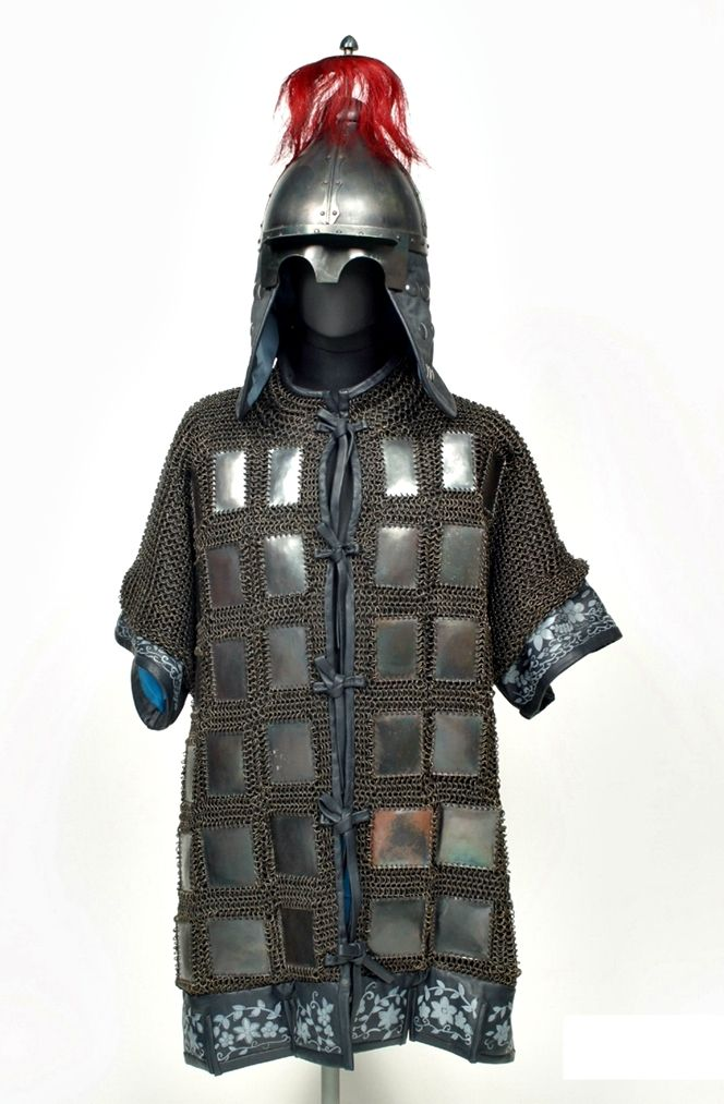 Re-creation of a Korean mail and plate armor, Joseon Dynasty.