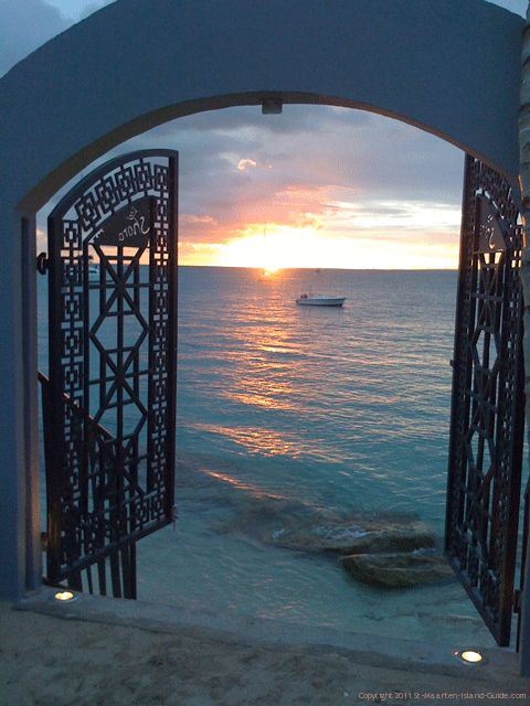 Grand Case St Martin. Had the pleasure of eating in this restaurant our last night...so beautiful