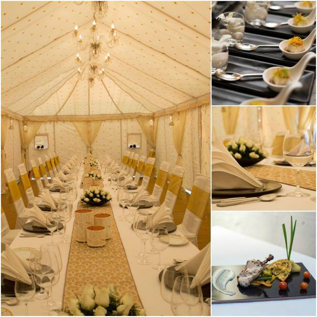 Host an exclusive dinner in our party tent. Marquee on Frame with an impressive interior is all you need to make your event the talk of the town!