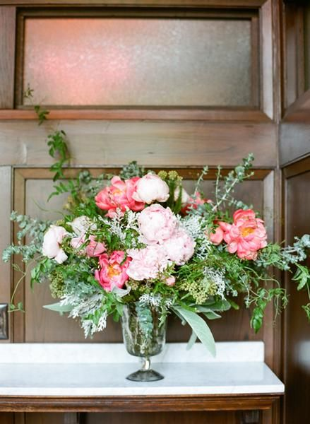 Flower Friday - Peony Centerpieces