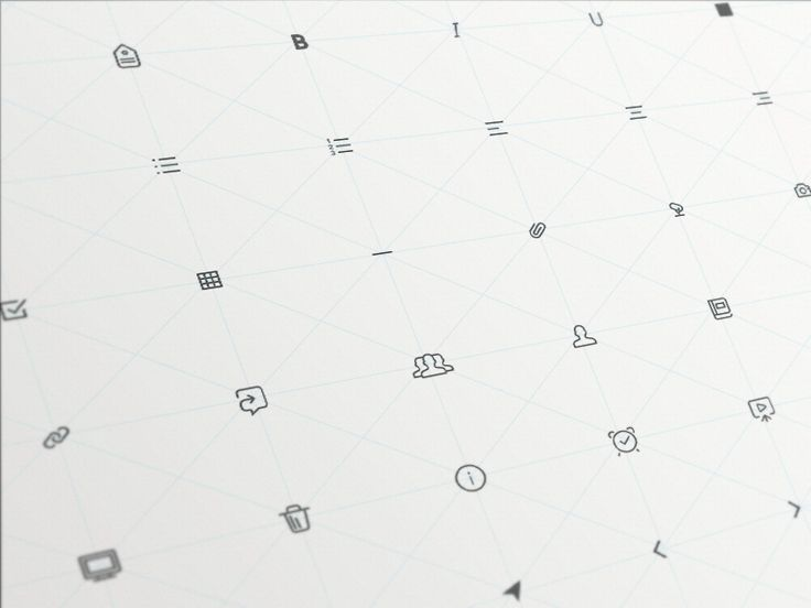 Text Formatting Icons and Some Others