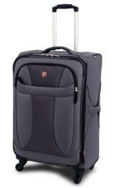 Grey - SwissGear Wenger 20 inch Neo-Lite Upright Expandable