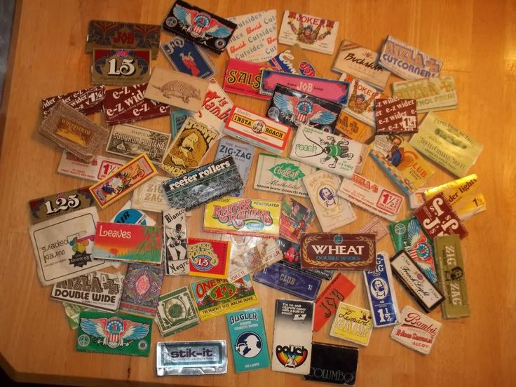 Toke Signals with Steve Elliott   Dude, Check Out My 1970s Weed Rolling Paper Collection