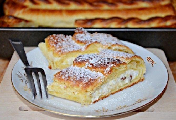 Tiroli túrós rétes recept képpel. Hozzávalók és az elkészítés részletes leírása. A tiroli túrós rétes elkészítési ideje: 80 perc