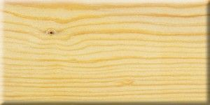 Solid pine with oil finish.
