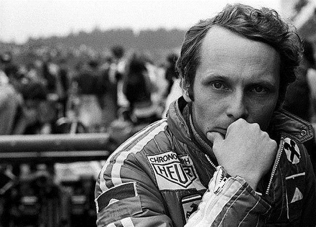 Niki Lauda por David Phipps
