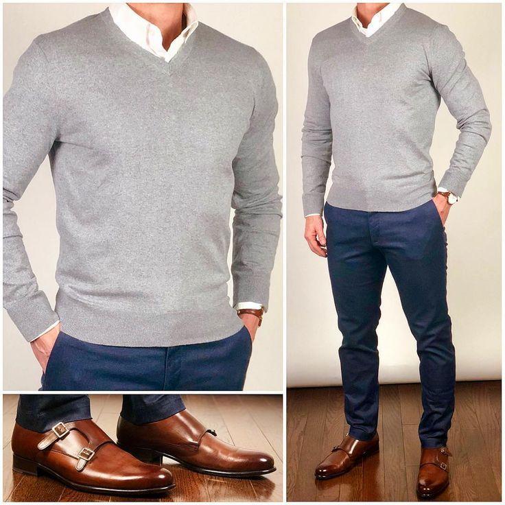 Die meisten von euch bevorzugen V-Neck-Pullover ge…