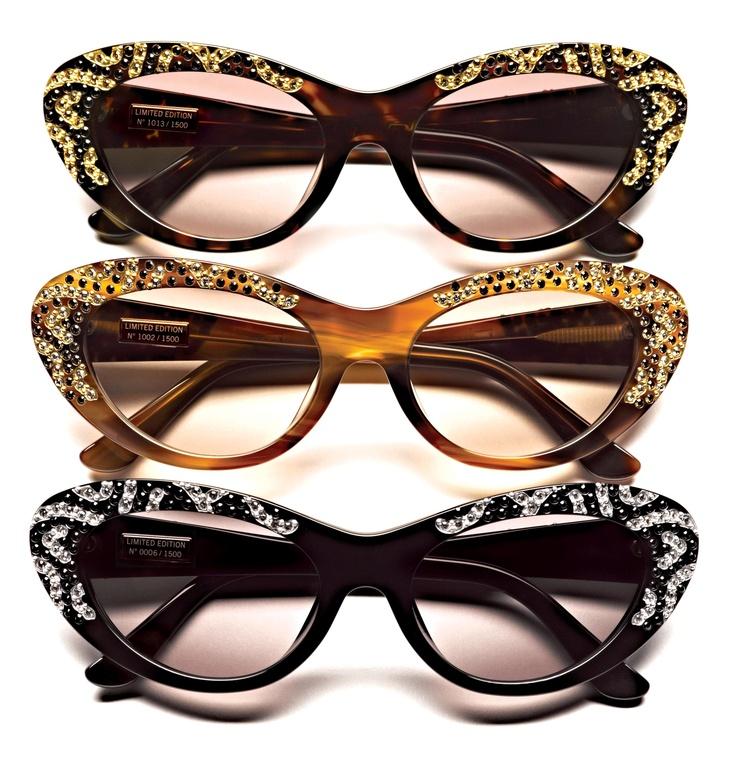 "The Salvatore Ferragamo Eyewear Limited Edition Sunglasses ""Fifties."" #oculos…"