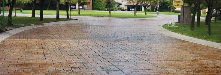 As 25 melhores ideias de moldes para concreto no pinterest for Cemento estampado precio