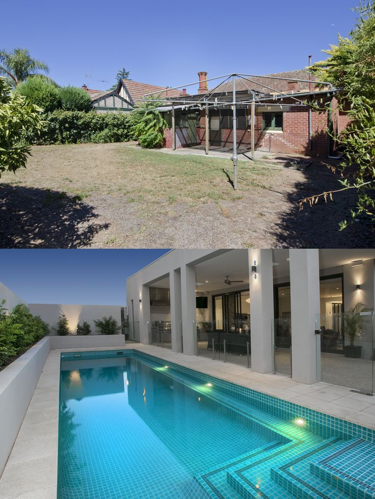 Before & After - Custom Renovation & Extension  Heritage listed home, swimming pool, alfresco