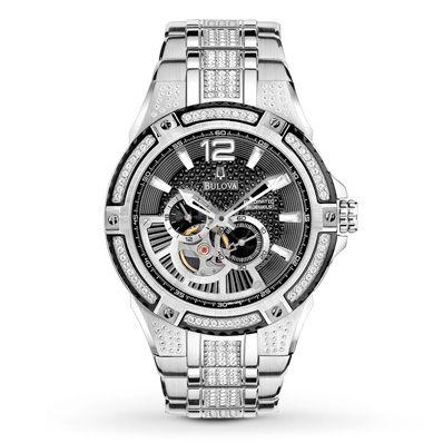 Bulova Men's Watch Aperture Automatic 98A128