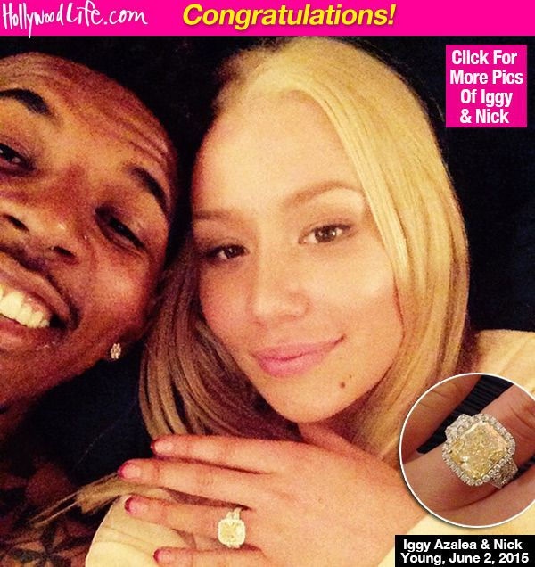 Iggy Azalea & Nick Young Engaged: See Her Massive Engagement Ring
