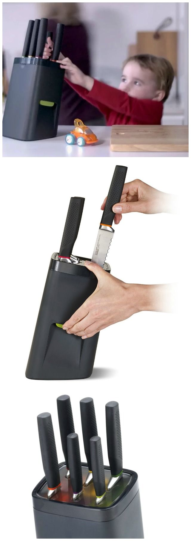 Joseph Joseph LockBlock - child safe knife block.