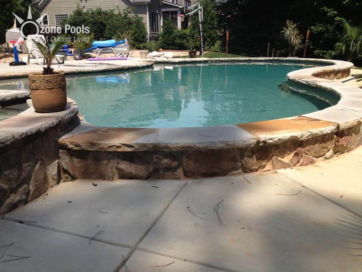 25 best backyard pool ideas images by jana langseth on - Fibreglass swimming pool bond beam ...