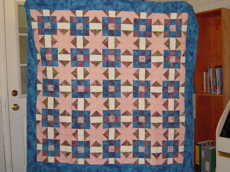 a birthday quilt
