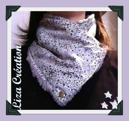 Tutoriel col echarpe en tissus Fabric Cowl scarf tutorial