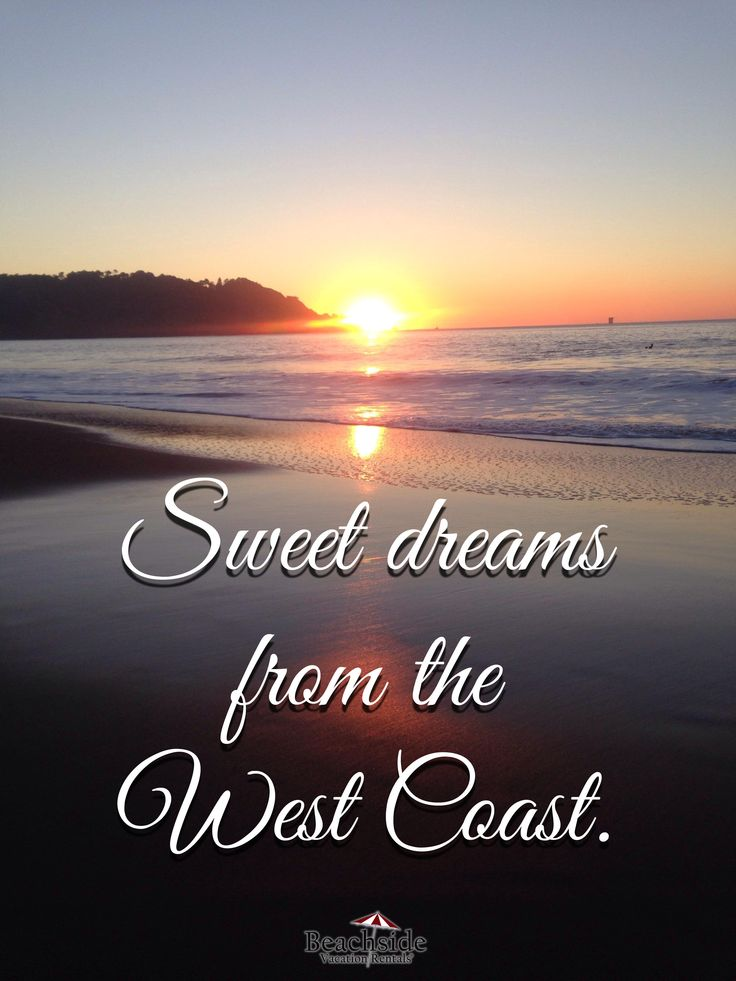 Sweet dreams from the west coast! #California #sunset #beach