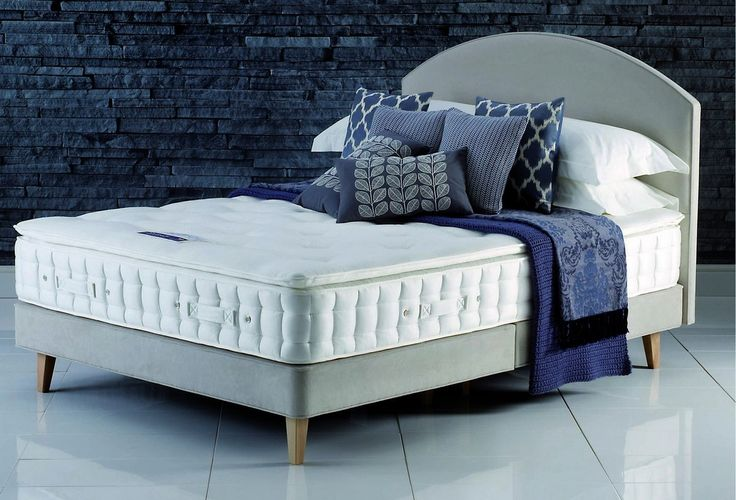 Hypnos Pillow Top Ruby Super King Size Divan Bed for £1,534.00