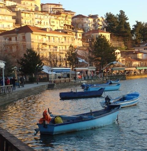 Kastoria's lake view