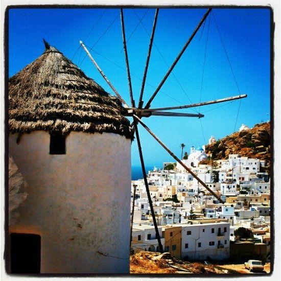 Ios Mills, Island. Greece