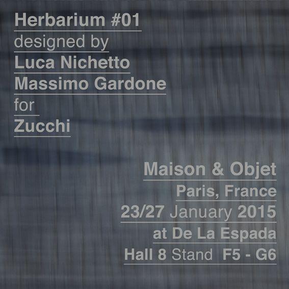 Debutta a Maison & Objet a Parigi la nuova linea di biancheria da letto Herbarium#01 firmata da Massimo Gardone e Luca Nichetto by Zucchi.